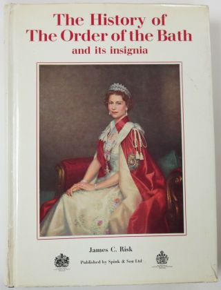 1972 British Book The History Of The Order Of The Bath And Its Insignia Risk
