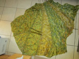 Wwii Us Army Camouflage Parachute Material,  Scarf,  Helmet Cover,  Repair