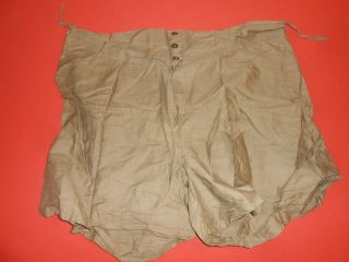 U.  S.  Army :: - Wwii - Underpants Shorts Or Boxer Militaria,  Size 42