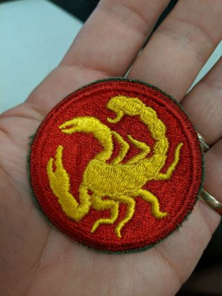 Wwii Us Army 22nd Infantry Phantom Division Patch And Tab Set Look