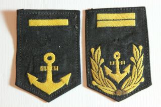 Military Wwii Japanese Rank Patches,