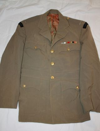Post Ww2 Canadian Navy Officers Tropical Uniform