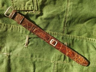 Wwii Japanese Army Officer Watch Belt