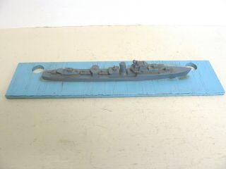 "Wwii British Silhouette Recognition Ship Model Teacher "" T "" Class"