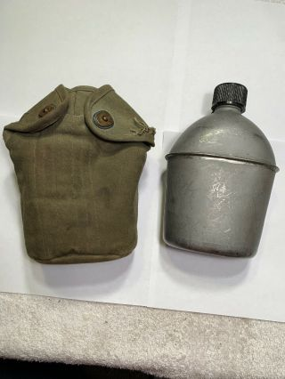 Wwii U.  S.  G.  P.  & Foley Co.  1944 Canteen And Cover 5a