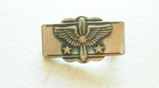 Ww2 Period Sweetheart Pin Us Army Air Force In Sterling By Coro