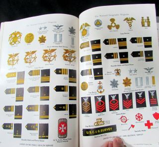 Ww2 National Geographic Heroes Of Wartime 334 Illustrations Of Insignia In Color