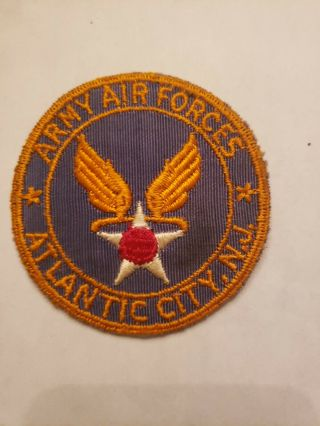 U.  S.  Army Air Forces Atlantic City,  Nj Bx Mirror Patch Homefront.