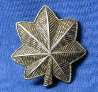 Wwii Sterling Army Major Rank Shoulder Insignia By Amico