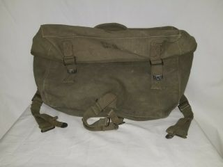 Wwii Us M1944 Cargo Bag