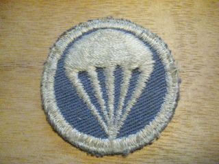Wwii Airborne Garrison Small Overseas Cap Patch Paratrooper