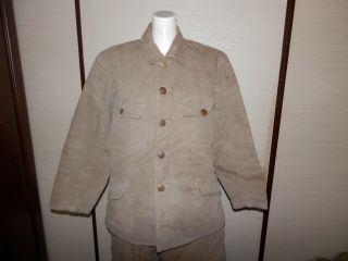 Ww2 Japanese Army 98rd Model Year Battle Clothes.  2 - 1 Very Good