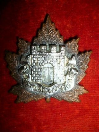 Canadian - The Fort Garry Horse Cap Badge,  Ww2 Canada