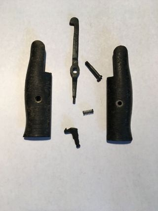 M1 Garand Grips And Receiver Parts[very Good Condition]