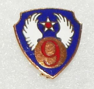 Wwii 9th Air Force Patch Type Di