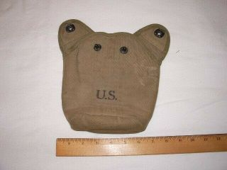 Wwii Us Army M - 1910 Canteen Cover 1942 Foley Mfg.  Co.  Nos ???