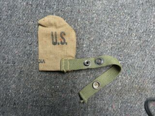 Wwii Us Gi Muzzle Cover - For M1 Garand - M1 Carbine - 1903 & 03a3 Springfield - 1944
