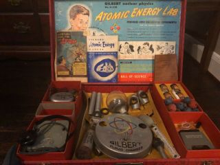 Gilbert U - 238 Atomic Energy Laboratory Kit