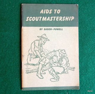 Vintage Boy Scout - 1946 Aids To Scotmastership - Baden - Powell