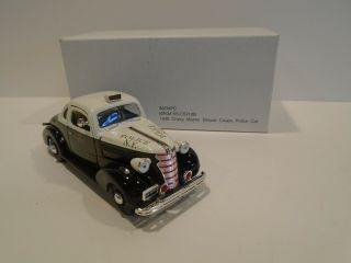 1938 Chevy Master Deluxe Business Coupe Police Car Nypd 41 Pct.  1:32 Scale