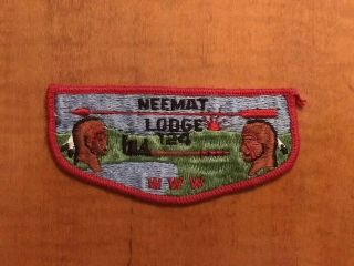 Oa Neemat Lodge 124 S1 - First Flap (previously Sewn)