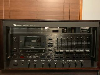 Nakamichi 1000zxl Cassette Deck Vintage Read Discription