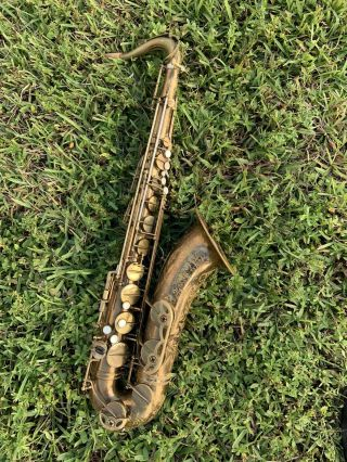 "Selmer Mark Vi Tenor Saxophone - Vintage "" London "" Serial 808xx Circa 1959"