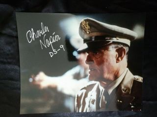 Star Trek Deep Space 9 Charles Napier Autographed/signed 8x10 Glossy Photograph