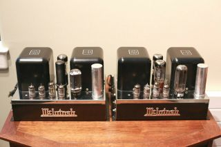 Vintage Mcintosh Mc - 30 Tube Mono Block Amplifier Stereo - Mc - 60 - Priced Each