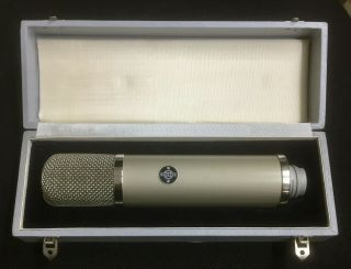 Neumann Gefell Vintage Microphone Um 57 Made In Germany - 3199
