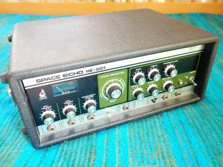 Roland Re - 201 Space Echo - 1976 Vintage - Serviced / Fully Maintained - D430