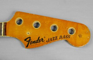 1971 Fender Jazz Bass Rosewood Neck Vintage American Usa 1970 1972