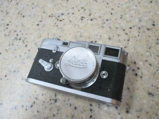 Vintage Leica M3 Camera With Lens