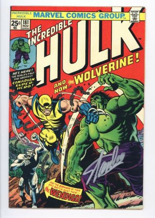 Incredible Hulk 181 Vol 1 Almost Perfect 1st Wolverine With Mvs