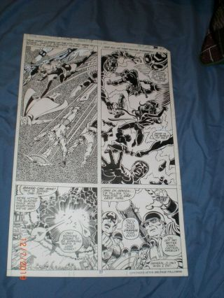 George Perez Art – Fantastic Four Annual Issue 14 (year 1979),  Page 2