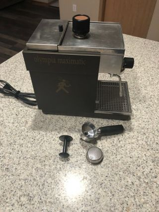 Vintage Olympia Maximatic Express Coffex Espresso Machine 110w
