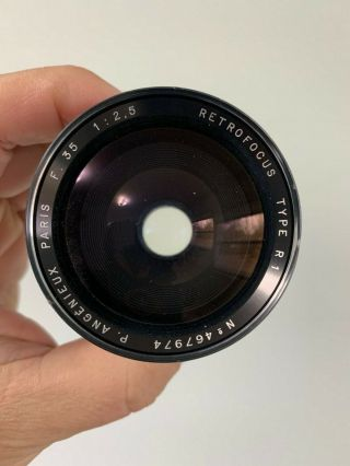 Angenieux 35mm F2.  5 Type R1 Vintage France Exakta Exacta Exa Mount Lens