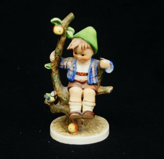 "Hummel Figurine 142/i Apple Tree Boy 6 1/4 "" Tmk - 3 A9256"
