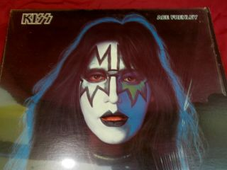 Kiss Ace Frehley Solo Lp Casablanca Nblp 7121 Sleeve,  Fold Out Poster 1978