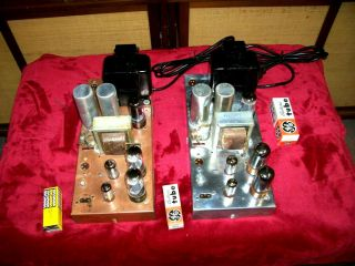2 Vintage Westinghouse Tube Mono Blocks Power Amps Ch.  V 2235