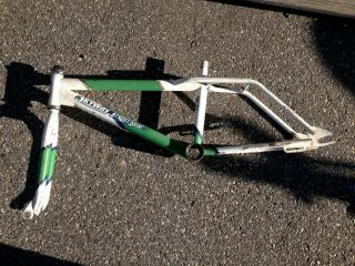 Vintage Skyway Street Beat Bmx Bicycle Frame 1980