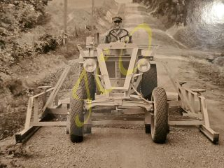 1934 Fate Root Heath Plymouth Tractor Photo (pre Silver King)
