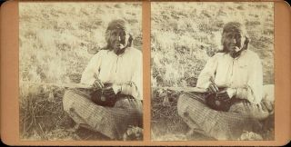 Southern California Indian Basket Weaver By Los Angeles Photographer C.  Pierce