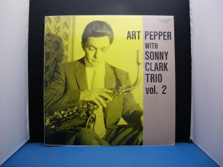 Art Pepper With Sonny Clark Trio Vol.  2 Japan
