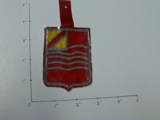 15 Artillery Hand Made In Korea Di Style Color Patch In Plastic Hanger 1970
