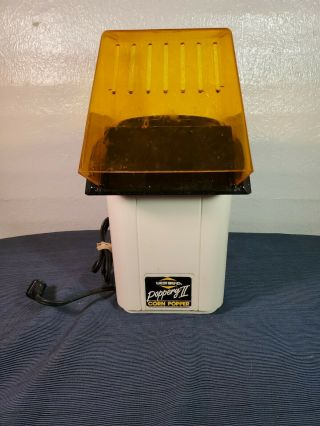 Vintage West Bend The Poppery Ii Hot Air Corn Popper Coffee Bean Roaster (aa21)