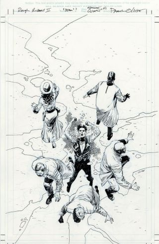 Rough Riders Ii Riders On The Storm 1 Variant Cover Art - Pat Olliffe