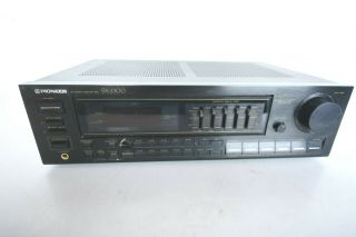 Vintage Pioneer Sx - 2300 Stereo Receiver Graphic Equalizer 1980