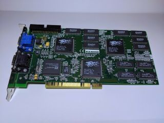 Graphics Card - 3dfx Voodoo 2 Diamond Monster 3d Ii Pci 8 Mb Vintage
