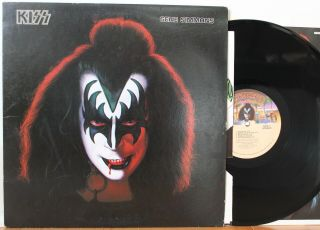 Kiss Gene Simmons Solo Lp (casablanca Nblp - 7120,  Orig 1978) Vg,  With Poster
